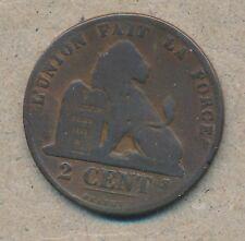 België/Belgique 2 ct. Leopold II 1870 Fr Morin 207 (1122660)