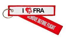 Remove BEFORE FLIGHT-Airport EDT. - I Love fra Francoforte-PORTACHIAVI