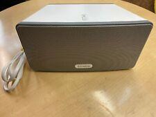 New listing Sonos Play 3 Wireless Speaker White/Grey