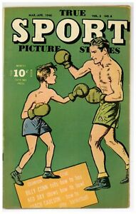 True Sport Picture Stories V.3#6 Boxing Bowling 1946 Street & Smith (j#2125)