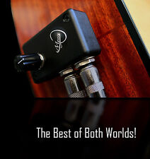 Acoustic Guitar Blend Pickup with Preamp. The Blend from Myers Pickups