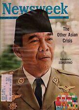 1965 Newsweek February 15 - Sukarno, Indonesia; Beatles, communists,anti-Christ