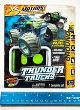 Micro Rc Spin Master Tomy Air Hogs Rc Thunder Trucks Black C Band New Sealed