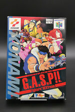 G.A.S.P!! GASP Fighter's NEXTream Nintendo 64 N64 Import Japan