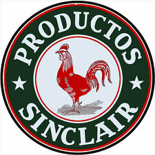 Productos Sinclair Motor Oil Sign 24X24 Round