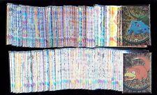 TOPPS CHROME POKEMON SET 151 CARDS SERIES 1 & 2 PACK FRESH MINT!!   COMIC KINGS