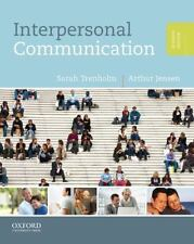 (EBOOK/PDF) Interpersonal Communication by Sarah Trenholm 2011