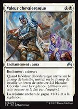 MTG Magic ORI - (4x) Knightly Valor/Valeur chevaleresque, French/VF