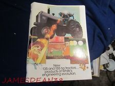 WHITE 2 135 2 155 FIELD BOSS TRACTORS SALES BROCHURE CATALOG PAMPHLET