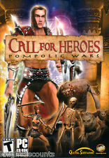 CALL FOR HEROES Pompolic Wars - RPG Role Playing PC Game - US Version - NEW!