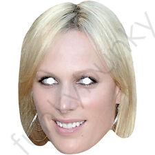 Zara Phillip Royal Celebrity Cardboard Mask - All Our Masks Are Pre-Cut!