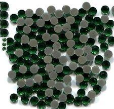 Rhinestones 2mm 6ss EMERALD color Hot Fix 144pc 1 gross