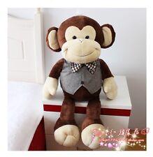 30'' Big Monkey Stuffed Animal Plush 75Cm Soft Pillow Toy Birthday Cushion Gifts