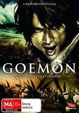 Goemon NEW R4 DVD
