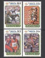 Lesoto 1990 Barcelona'92 Olimpiadas/horsejumpi 4 V s2612a