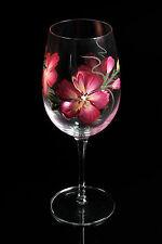 Beautiful Hand Painted Wine Glass Assortment