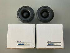 DYNAUDIO D54 STD Dome Mid Range Speaker High Fidelity Audio Vintage PAIR NOS