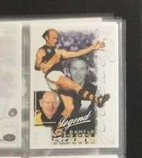 2002 Select Exclusive Silver Legend Kevin Bartlett