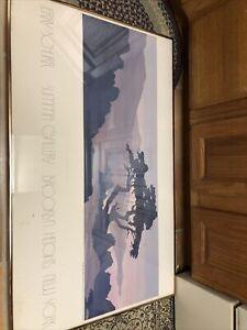 "1982 Jerry Schurr Poster Summa  Gallery  24"" X 40"" - No Frame California"