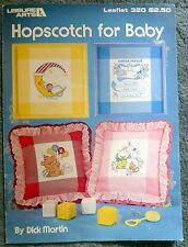 Leisure Arts Hopscotch for Baby Cross Stitch Leaflet 320