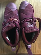 Nike Lebron James Maroon Red Shoes Men Size 11