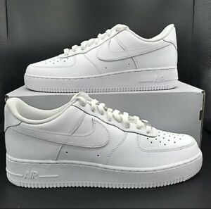 Nike Air Force 1 '07 Low Triple Men's White CW2288-111 ALL SIZES New 6.5-15