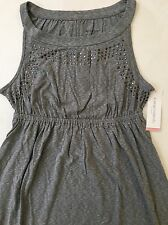 NEW Liz Lange Knit Maternity Dress - Grey Size M
