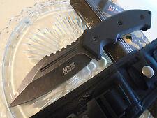 Mtech Xtreme Combat Dagger Bowie Knife Full Tang 440C MX-8133BK Molle Black G10