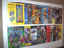 Lot Of (20) ORIGINAL Pinball Machine Arcade Game Flyers Great Titles LOW Price