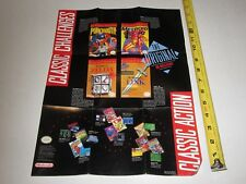 Nintendo Classics SNES  2 Sided Promotional Poster