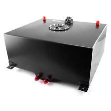 20 Gallon / 80 Litre Aluminum Fuel Cell w/Tube Type Level Sender - Black