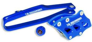 TM Designworks Dirt X Multi-Purpose Slide-N-Guide Kit Blue YCP-OR3-BU