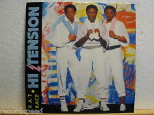 "★★ 12"" MAXI-HI TENSION-Consiglio Race-SOUL FUNK-Streetwave mKhan 13/1984"