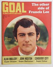 GOAL Football Magazine #139 - 3 April 1971 - Coventry City, Ray Kennedy