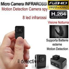 Telecamera spia microcamera infrarossi full hd nascosta micro notturna mini