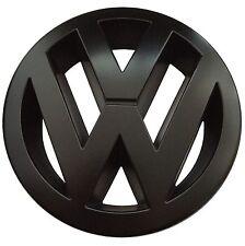 VW Zeichen Schwarz Matt Vorne Golf 6 GTI GTD R Line Edition 35 Adidas Emblem NEU