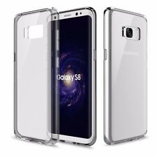 D'origine ROCK étui en silicone Etui Transparent/Gris Pour Samsung Galaxy S8