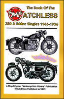 MATCHLESS SHOP MANUAL SERVICE REPAIR BOOK OF THE SINGLE 350 500CC 1945-1956