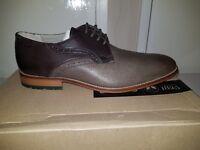 Clarks Penton Walk Men's Dark Brown Lea Size 7