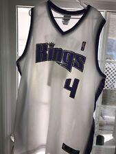 Chris Webber Sacramento Kings Reebok Pro Team Edition Jersey Sewn Sz58  Apparel 72c3d7b21