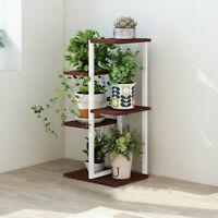 Plant Stand Garden Decor Flower Pots Shelves Multi-Tier Bamboo Rack Holder - USA