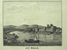 1 Orig. Federlitho Bildergalerie Jugend 1835 WIESBADEN/BIEBRICH
