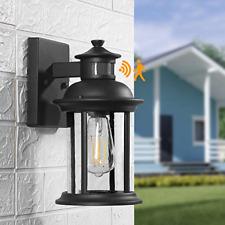 Motion Sensor Outdoor Wall Light, Dusk to Dawn Outdoor Lighting Fixtures Wall