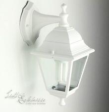 Weiße Aussenwandleuchte LIMA rustikal Aussenleuchte Laterne Leuchten Hoflampen