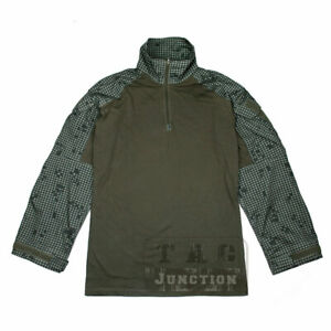 Desert Night Camo G3 Combat Shirt Tactical Miliaty Airsoft Uniform Long Sleeve