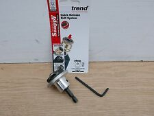 TREND SNAPPY 35MM TCT HINGE CUTTER MACHINE BIT WITH DEPTH STOP SNAP/MB/35DS