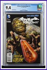 Batman The Dark Knight #12 CGC Graded 9.4 DC October 2012 White Pages Comic Book