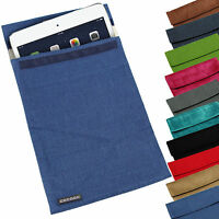 "SOFT UNIVERSAL TRAVEL POUCH SLEEVE COVER CASE BAG FOR UPTO 11"" PC TABLET EREADER"