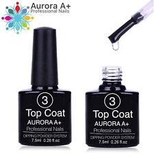 TOP COAT Dipping System Dip Nail Shining Acrylic Powder Nails 7.5ml (Step 3)