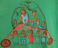 VINTAGE SRPMIC Education Center 90's Akimel Native American Design 90's Shirt XL